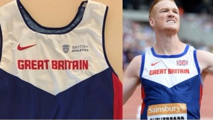 British Athletics criticised for ditching Union flag in new kit for World Championships