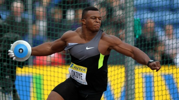 British discus thrower puts on a show at Regional Combine ...
