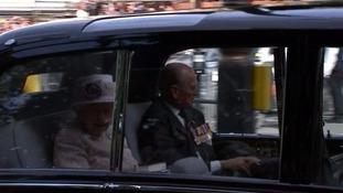 The Queen and the Duke of Edinburgh are leading the royal family's participation in the VJ Day events.
