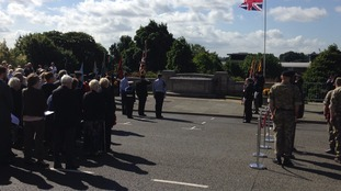 VJ commemoration in Chesterfield