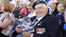 RAF veteran John Watkins, 89, from Boston, Lincolnshire