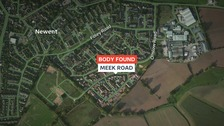 Marc Hasting's body was found in Meek Road on Wednesday