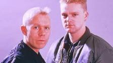 80's chart stars Erasure