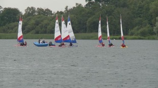Up to 50 young sailors took part in the training