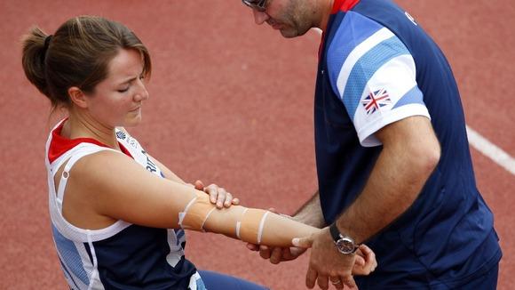 Team GB javelin thrower Goldie