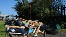 Leicester is the worst place in the East Midlands for fly-tipping