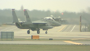 RAF Lakenheath one of the American airbases claimed to be on an ISIS hitlist