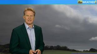 Simon Parkin presents the weather