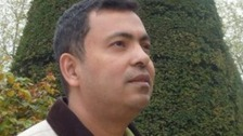 Avijit Roy was hacked to death by a gang with machetes.