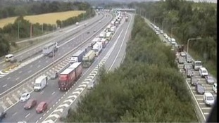Man dead and 19-year-old injured in M20 horror crash
