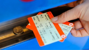 Rail fares will rise by an average of 1% from January