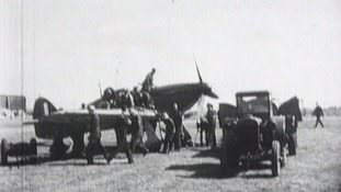 Ground staff played a key role in re-fueling and re-arming the planes.