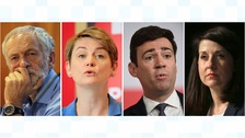 Contenders for Labour leadership