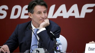 Lord Coe is the new president of the IAAF.