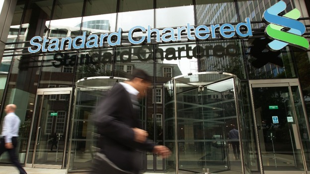 Standard Chartered building in the City of London