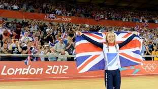 Great Britain's Laura Trott London 2012 Olympics
