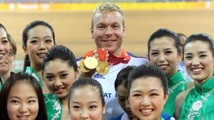 Sir Chris Hoy Olympics