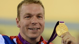Sir Chris Hoy Olympics 2012