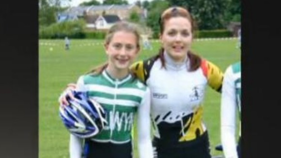 Laura Trott and Victoria Pendleton