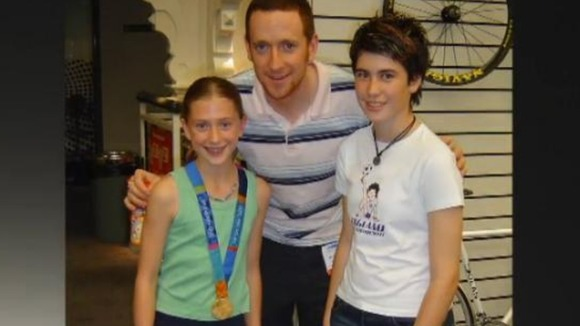 Laura Trott and Bradley Wiggins