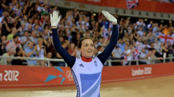 Victoria Pendleton Olympics 2012