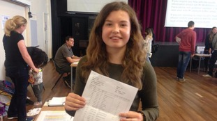 Amy Hullock from Ullswater Community College