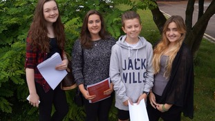 GCSE students get their results