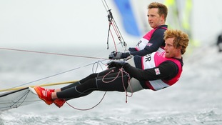 Stevie Morrison and Ben Rhodes Olympics 2012 Team GB