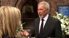 Sir Tom Jones said that Cilla's bubbly personality kept her in the public's affection