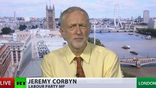 RT image of Jeremy Corbyn