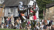 There'll be a medieval themed family event in Jubilee Square