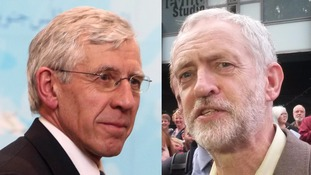 While Jack Straw joined then-Prime Minister Tony Blair in leading the case for the Iraq invasion, Jeremy Corbyn was among Labour backbenchers who opposed war in the Commons.