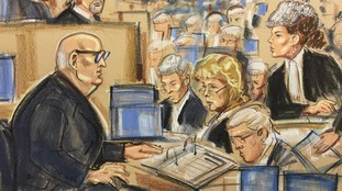 Harry Clarke repeatedly refused to answer questions in court.