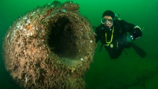Oldest submarine dive