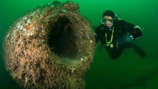 Oldest submarine dive