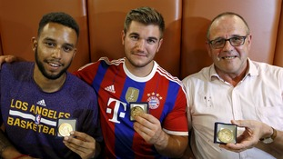Anthony Sadler, from Pittsburg, California, Aleck Sharlatos from Roseburg, Oregon, and Chris Norman, a British man living in France.