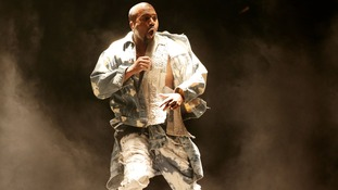 Kanye West performing in Toronto earlier this sumer