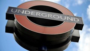 Underground sign for Oxford Circus