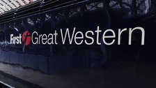 A First Great Western Train at Paddington Station