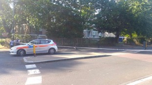 Streets in Sydenham cordoned off near where the man was found