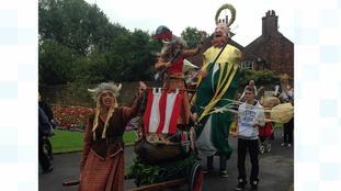 Carlisle Pageant parade