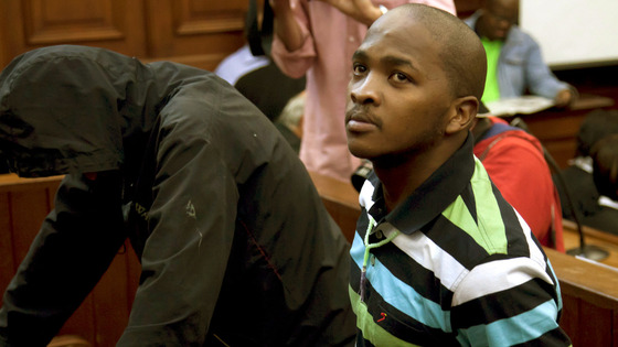 Mziwamadoda Qwabe in court in February