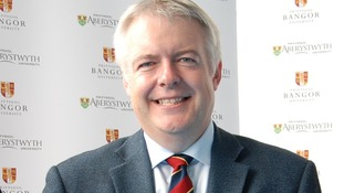 First Minister at Bangor/Aberystwyth joint launch