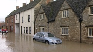 In 2012 and 2013 Malmesbury was flooded when the River Avon burst it's banks