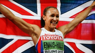 Jessica Ennis-Hill wins heptathlon gold at 2015 World Championships in Beijing