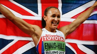 Jessica Ennis-Hill wins gold