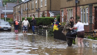 The new flood defence scheme aims to prevent scenes like this in future