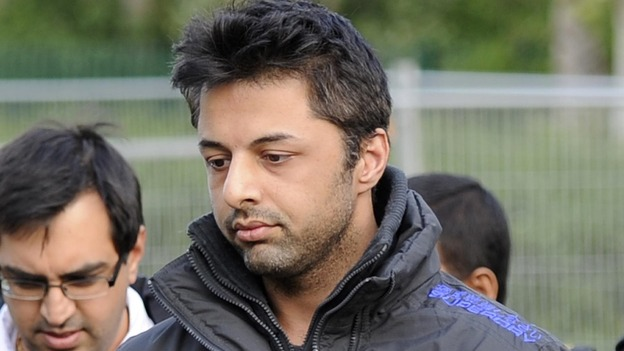 Shrien Dewani arriving at court in May 2011