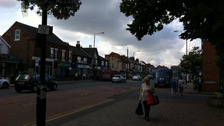 High street in Mapperley