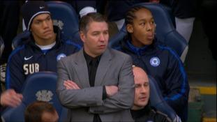 Peterborough United manager Darren Ferguson on touchline at London Road